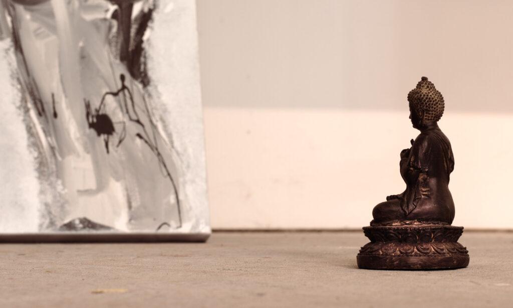 Buddha in Galerie